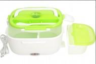 Ohřívací box na obědy MLY-669 s napájením 220V, zelený