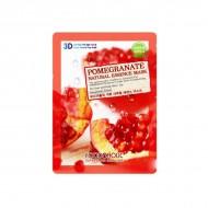 Pleťová maska FoodAholic s přírodními esencemi - granátové jablko, 23g