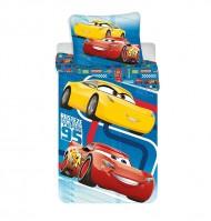 Povlečení Cars Blue 02 140/200, 70/90