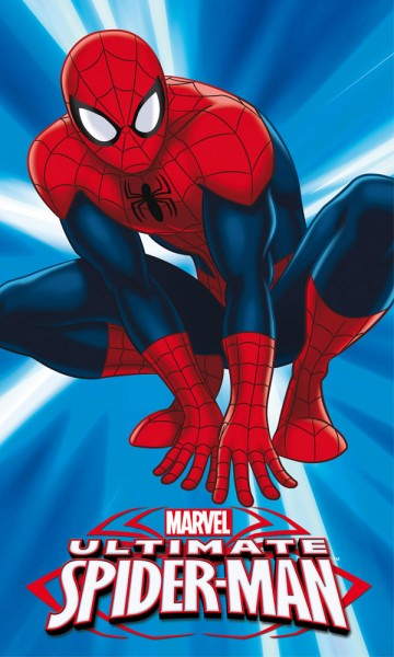 Dětský ručník Spiderman 30/50