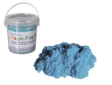 Nisip magic - găletușă 1kg - albastru