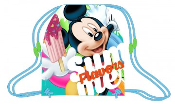 Taška na tělocvik a přezůvky Mickey nanuk 41 cm