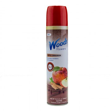Woods Flowers Spray aerosol - Măr și scorțișoară, 300ml