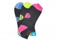 Dámské kotníkové bavlněné ponožky Pesail LW089 - 3 páry, velikost 38-42