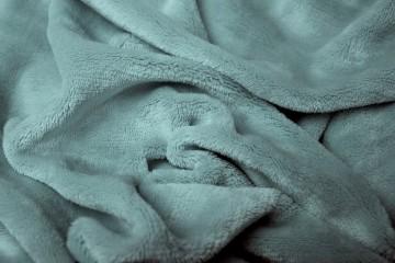 Prostěradlo mikroflanel 180x200 cm - šedé