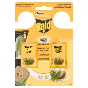 Raid - gel proti molům, cedrové dřevo - 2x3g