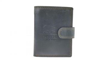 Pánská peněženka Hunters - černá, na výšku [987]