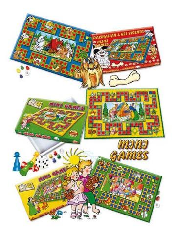 Stolná hra Mini Games Snehulienka