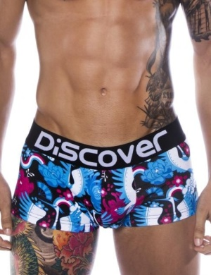 Pánské boxerky Discover Osaka Black Trunk, Velikost oblečení M