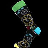 Ponožky - Hodiny - velikost 43-46