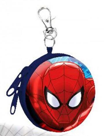 Dětská kovová peněženka s karabinou Spiderman