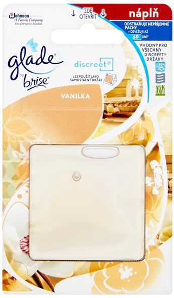 Glade Discreet náplň Vanilka 8 g