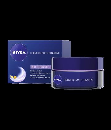 Nivea - Zklidňující noční krém pro citlivou pleť, 50ml