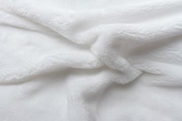 Prostěradlo mikroflanel 90x200 cm - bílé