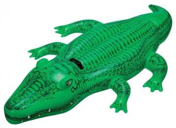 Nafukovací sedátko aligátor, 168x86 cm