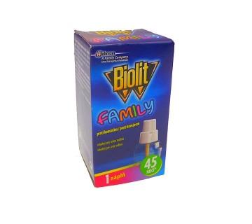 Biolit family - náhradní náplň do elektrického odpařovače - tekutá, 45 nocí, 27ml