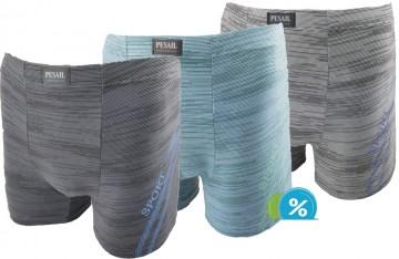 Bambusové boxerky Pesail M0205 - 1ks, velikost M