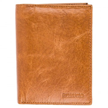 Pánská peněženka Bellugio - světle hnědá [970]