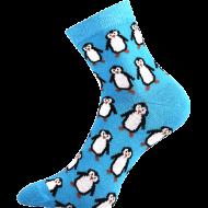 Ponožky - Tučnáci - velikost 43-46