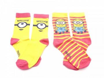 Ponožky - Mimoň 5 - velikost 23-26 cena za 2 páry
