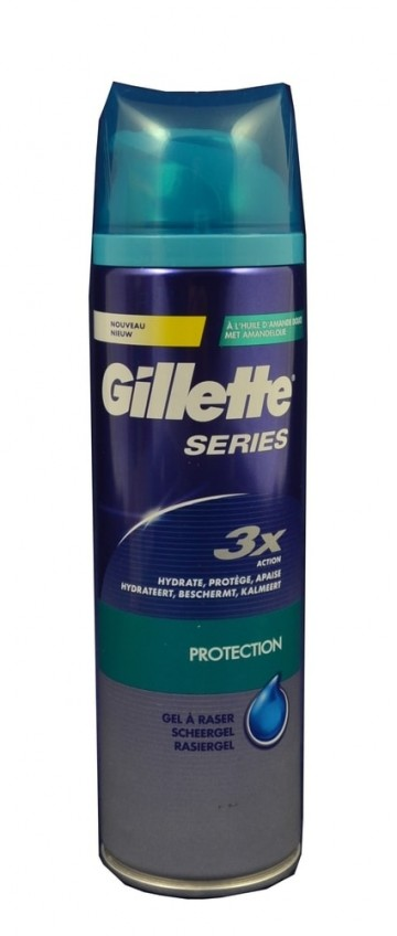 Gillette gel Series 200ml Protection