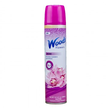 Woods Flowers Spray cu aerosol- Orhideie, 300ml