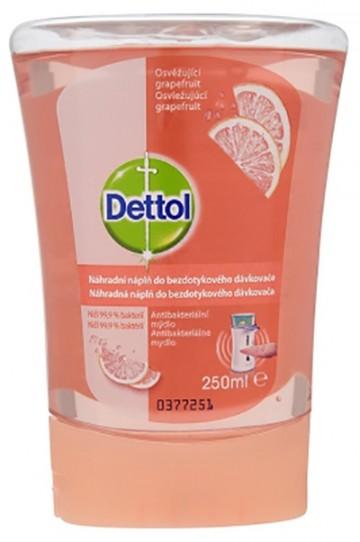 Dettol Náplň do bezdotykového dávkovače mýdla Grapefruit 250 ml