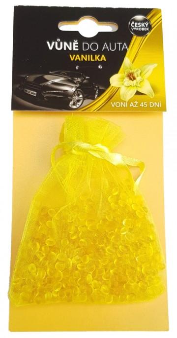 Osvěžovač vzduchu do auta vanilka - sáček, 20g