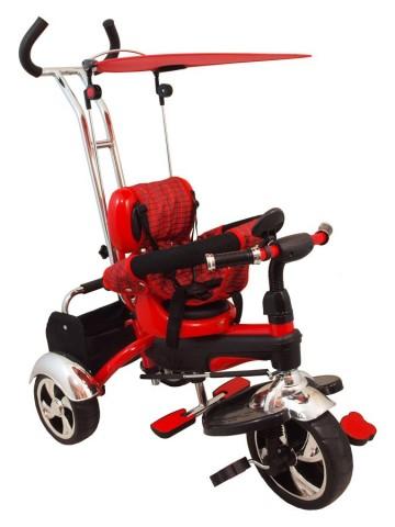 Dětská tříkolka Baby Mix red