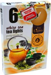 Čajové svíčky 6 kusů –  Bílý čaj