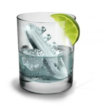 Forma na led - parník a ledovec