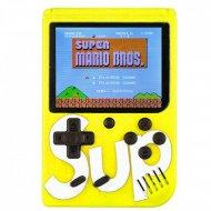Digitální hrací konzole 400v1 SUP GameBox - žlutá