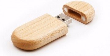 USB Flash disk 64GB - dřevěný