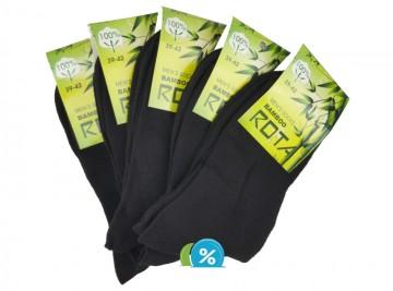 Pánské klasické bavlněné ponožky ROTA B-5056 - 5 párů, velikost 43-46