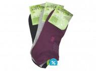 Dámské kotníkové bambusové ponožky NaiGe NW10103 - 3 páry, velikost 35-38