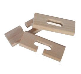 Dřevěný mini hlavolam [7052]