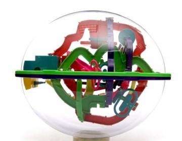 3D Intellect ball fejtörő - 208 akadály