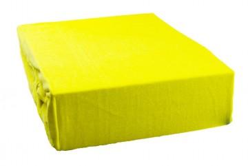 Jersey lepedő 220x200 cm - sárga