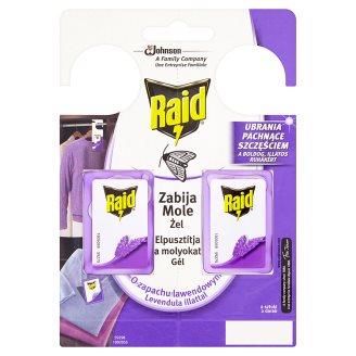 Raid - gel proti molům, levandule - 2x3g