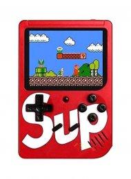 Konzol - kézi és retro 400v1 SUP GameBox - piros