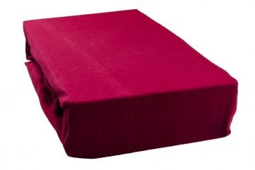 Jersey lepedő 180x200 cm - borvörös