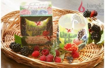 Vonná svíčka ve skle - TuttiFrutti Divoké lesní plody, 100g