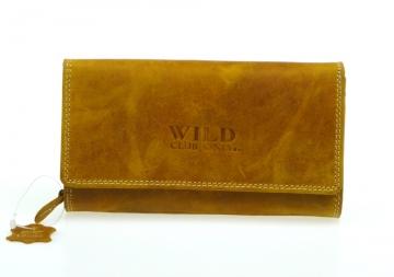 Portofel pentru femei Wild Club only - culoare nisip [913]