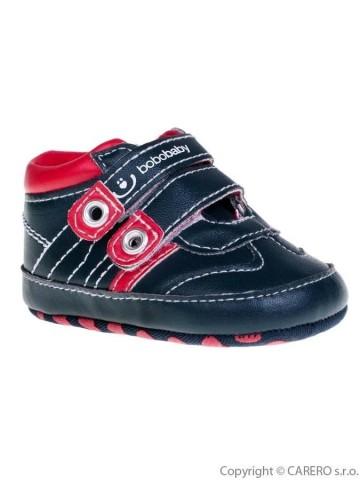 Dětské capáčky Bobo Baby černo-červené