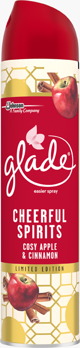 Glade by Brise - Aerosolový sprej - Jablko a skořice, 300ml