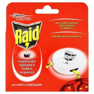Raid - incekticidní nástraha k hubení mravenců - domeček