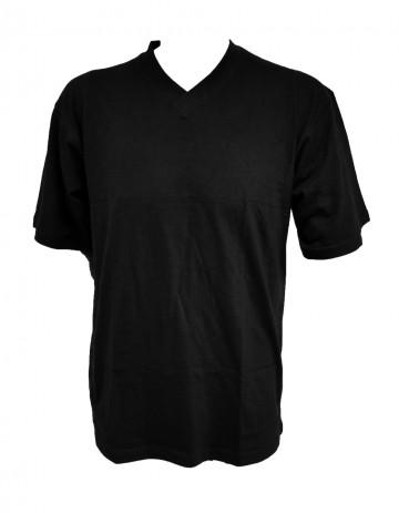 Pánské bavlněné tričko - černé, velikost XL