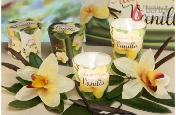 Vonná svíčka ve skle - Vanilka, 75g