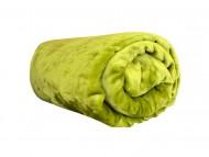 Deka z mikroflanelu, velikost 200x220 cm - zelená