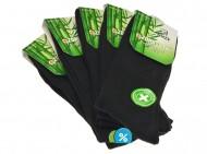 Pánské klasické zdravotní bambusové ponožky AMZF A3-13 - 5 párů, velikost 44-47